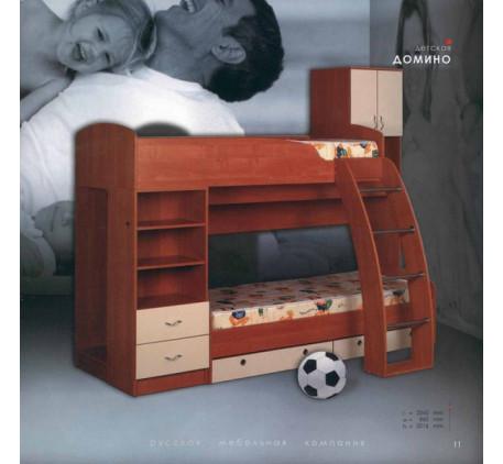 Кровать двухъярусная Домино 2