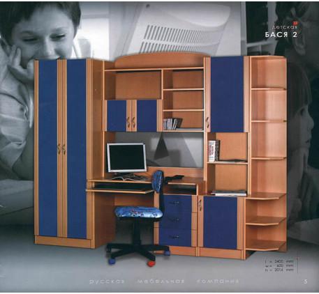 Детская мебель Бася-2