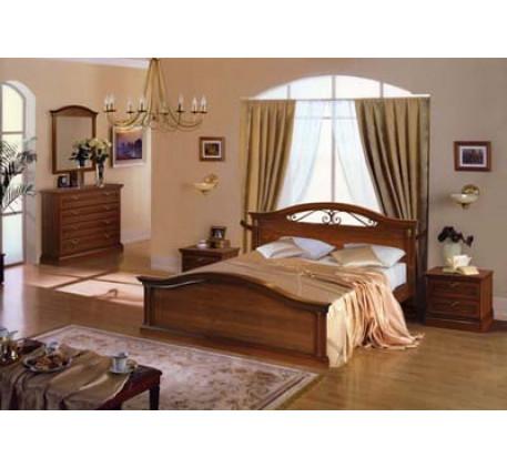 Спальня Мальта. Композиция №2: Комод 2781, Зеркало 2784, Кровать 2783, Тумба 2782 (2 шт.)