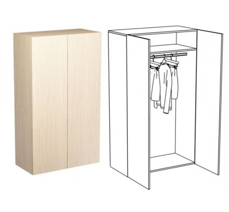 Шкаф для одежды (без зеркал)