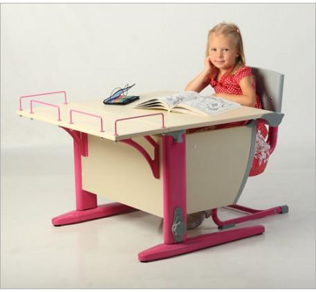 Набор растущей мебели Дэми: парта,стул и приставка. Столешница: 750x550 мм., Высота подъема столешни..