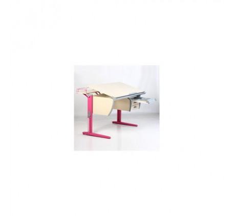 Набор растущей мебели Дэми: парта с тумбой, стул и 2 приставки. Столешница: 120x620 мм., Высота подъ..