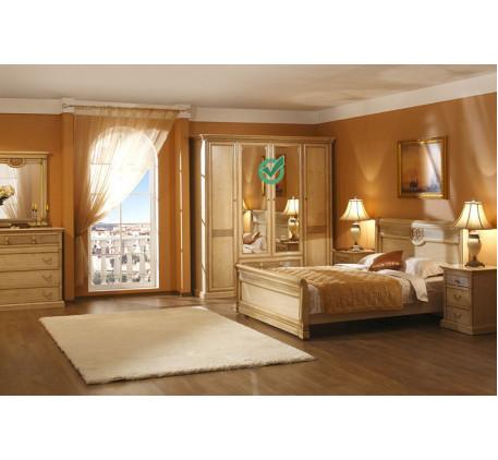 Спальня Изотта-2. Комплектация: ИТ-2, ИТ-5, ИТ-8, ИТ-1 (2 шт.), ИТ-3.