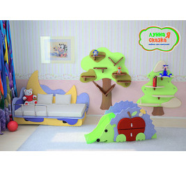 Детская мебель Лунная сказка (фабрика Ренессанс)