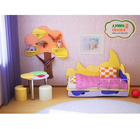 Детская мебель Лунная сказка. Коплект №3.