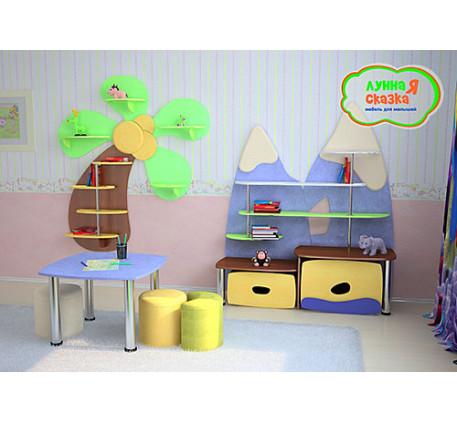 Детская мебель Лунная сказка. Коплект №4.