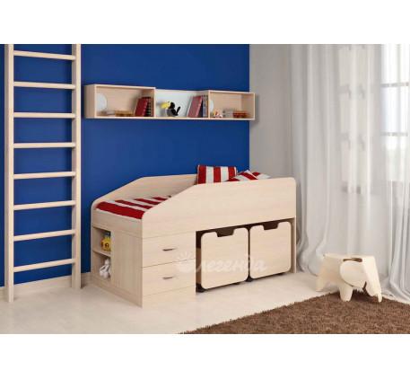 Детская кровать Легенда-8, спальное место 160х80 см