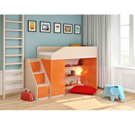 Кровать-чердак для детей Легенда-11.5, спальное место 180х80 см