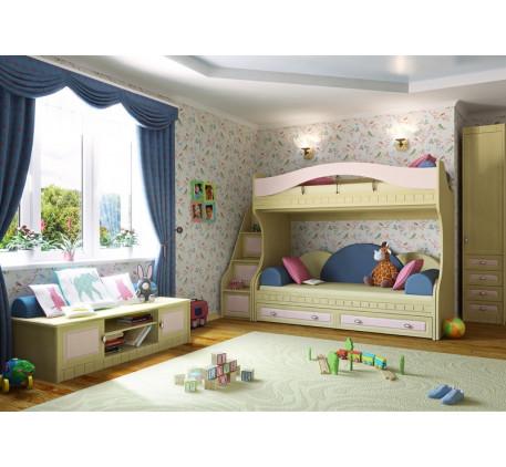 Детская мебель Итальянский мотив. Комната №1