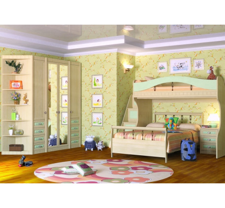 Детская мебель Итальянский мотив. Комната №4