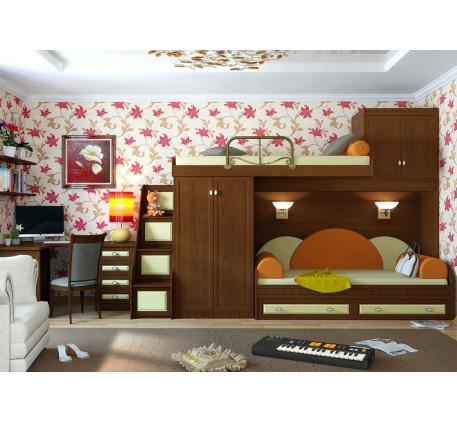 Детская мебель Итальянский мотив. Комната №14