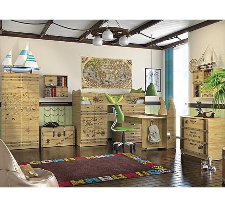 Детская мебель Корсар. Комната №1