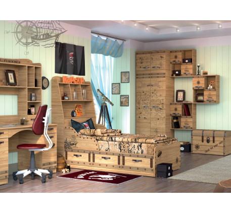 Детская мебель Корсар. Комната №2