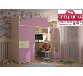 Детская кровать-чердак Нильс (фабрика «Сканд-Мебель»)