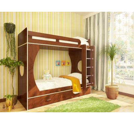 Двухъярусная кровать Орбита-2 (спальные места 800х2000 мм.)