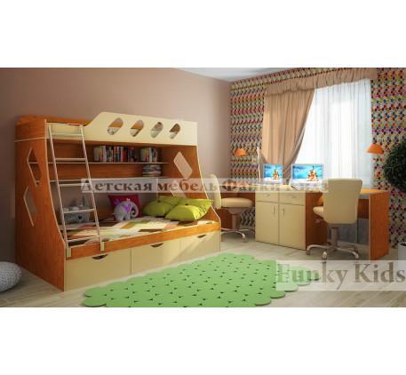 2-х ярусная кровать Фанки Кидз-16