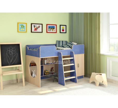 Кровать-чердак Легенда 2.1, спальное место 160х80 см