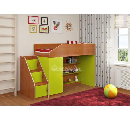 Детская кровать-чердак Легенда-11.5, спальное место 180х80 см